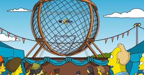 Simpsons Ball of Death