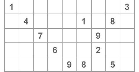 Sudoku Online bei t-online.de