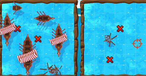 Wikingerhelden Seeschlacht