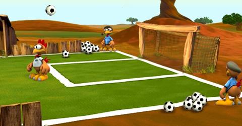 moorhuhn fussball