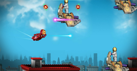 Lego Marvel Superheroes Ironman