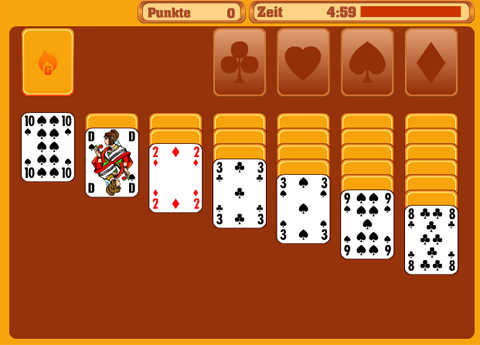 Gameduell Solitaire