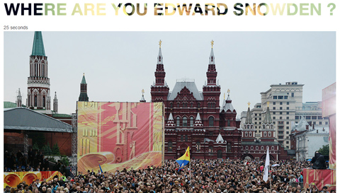 Where Are You Edward Snowden?