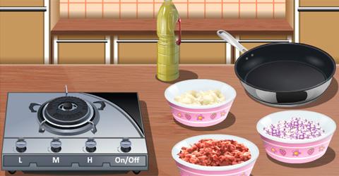 lasagne-cooking