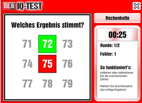 Bild-IQ-Test