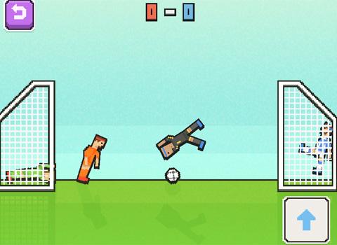 Geschicklichkeit & Jump 'n Run   Kaffeepausenspiele Soccer Physics