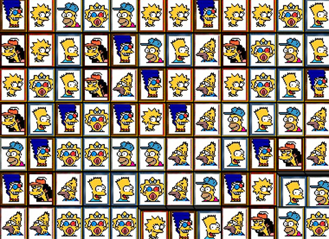 tiles of the simpson